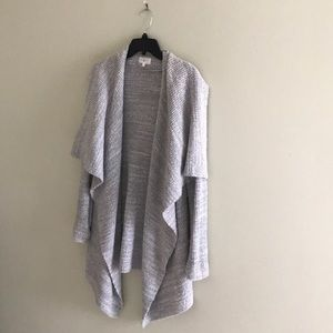 LOFT Grey Oversized Sweater